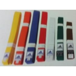 חגורות ג'ודו לילדים בצבעים אחידים